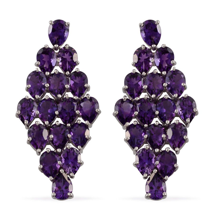 purple amethyst earrings