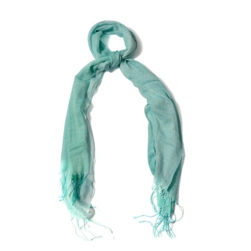 aqumarine-color-scarf
