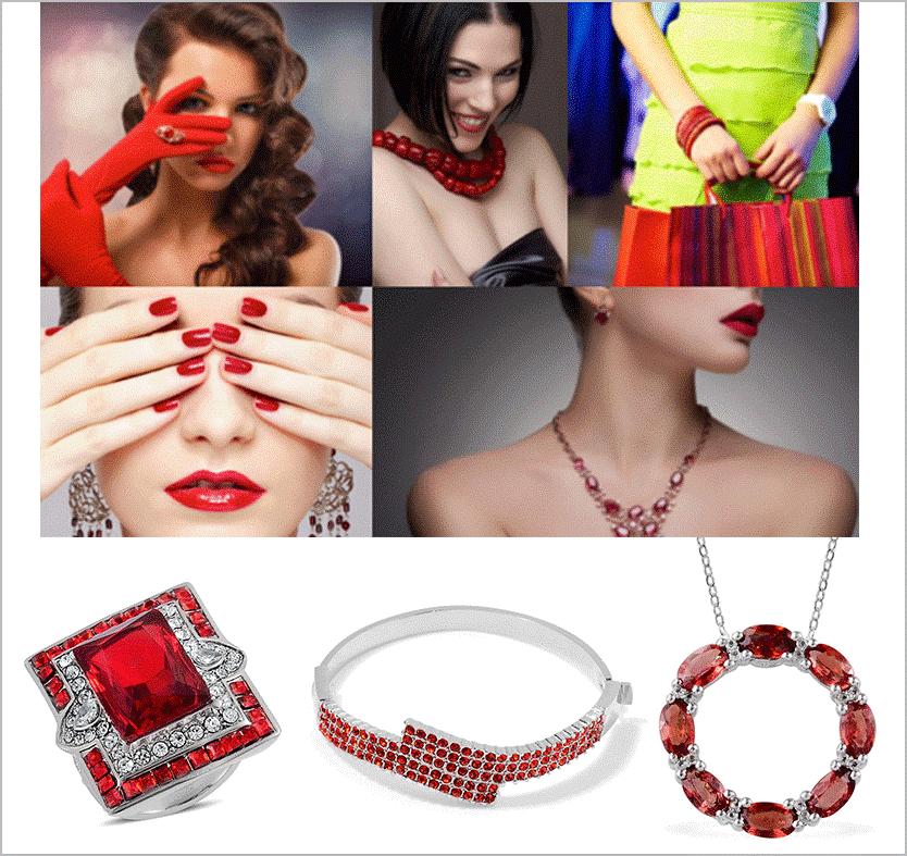 red-jewelry