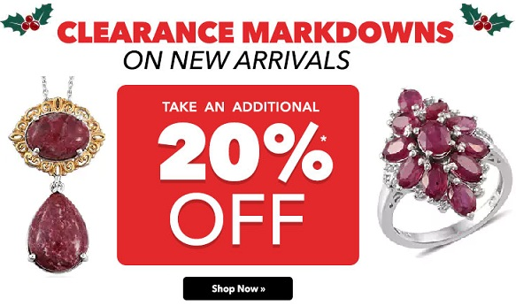 Jewelry Clearance Markdown