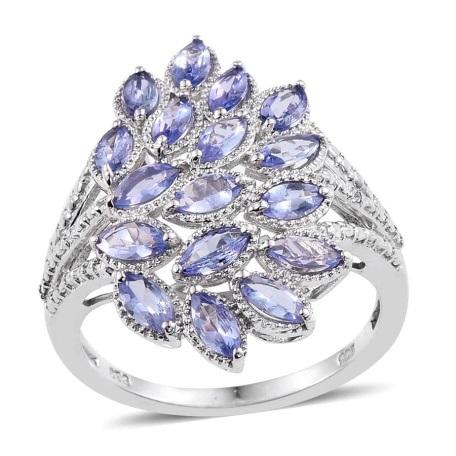 Designer tanzanite ring