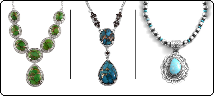 Mojave Turquoise Necklaces