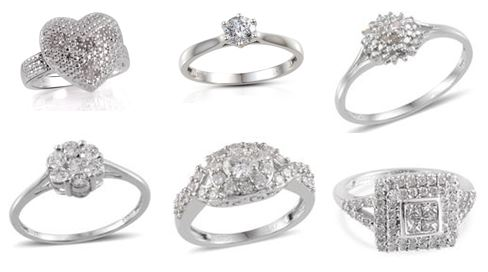 Diamond Solitaire Rings Collection